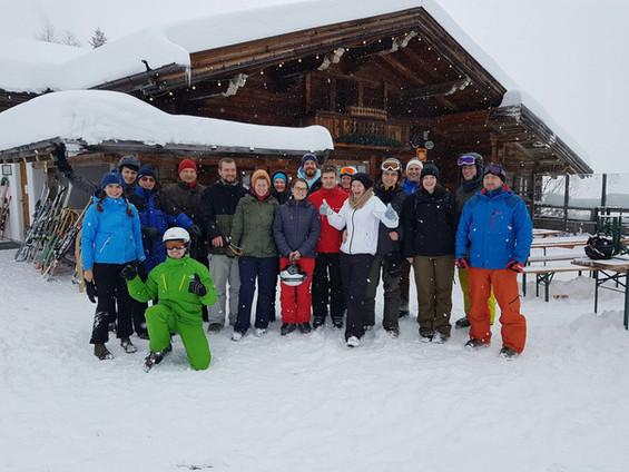 Ski fahren in der Kelchsau