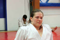 Happy karate