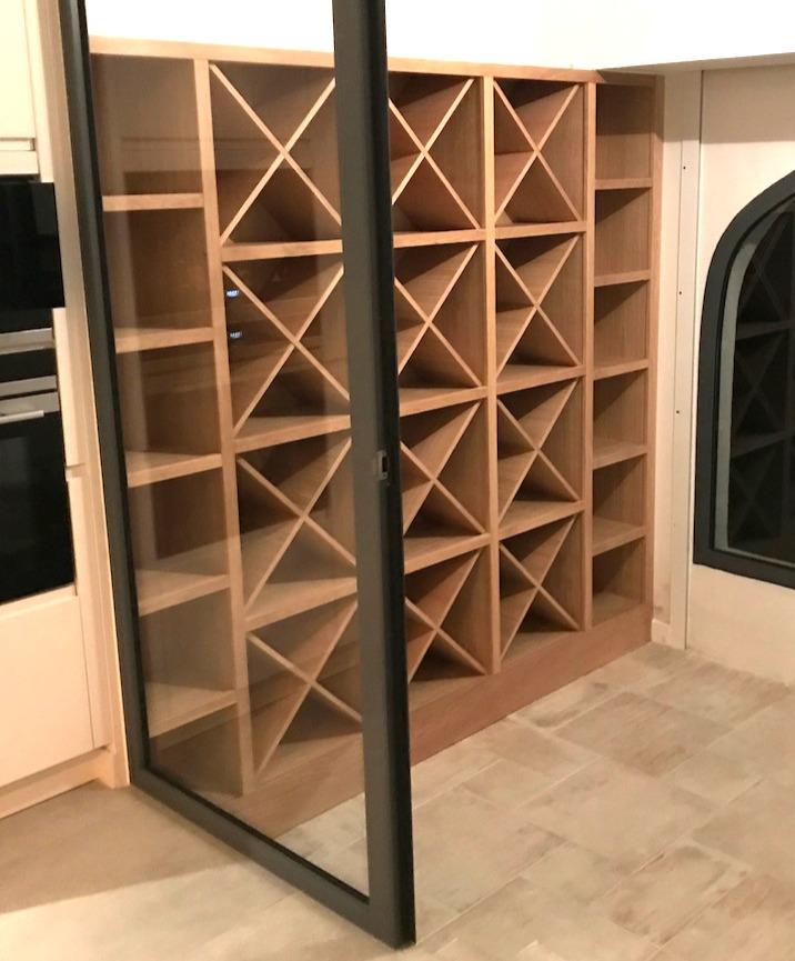 cave à vin bois