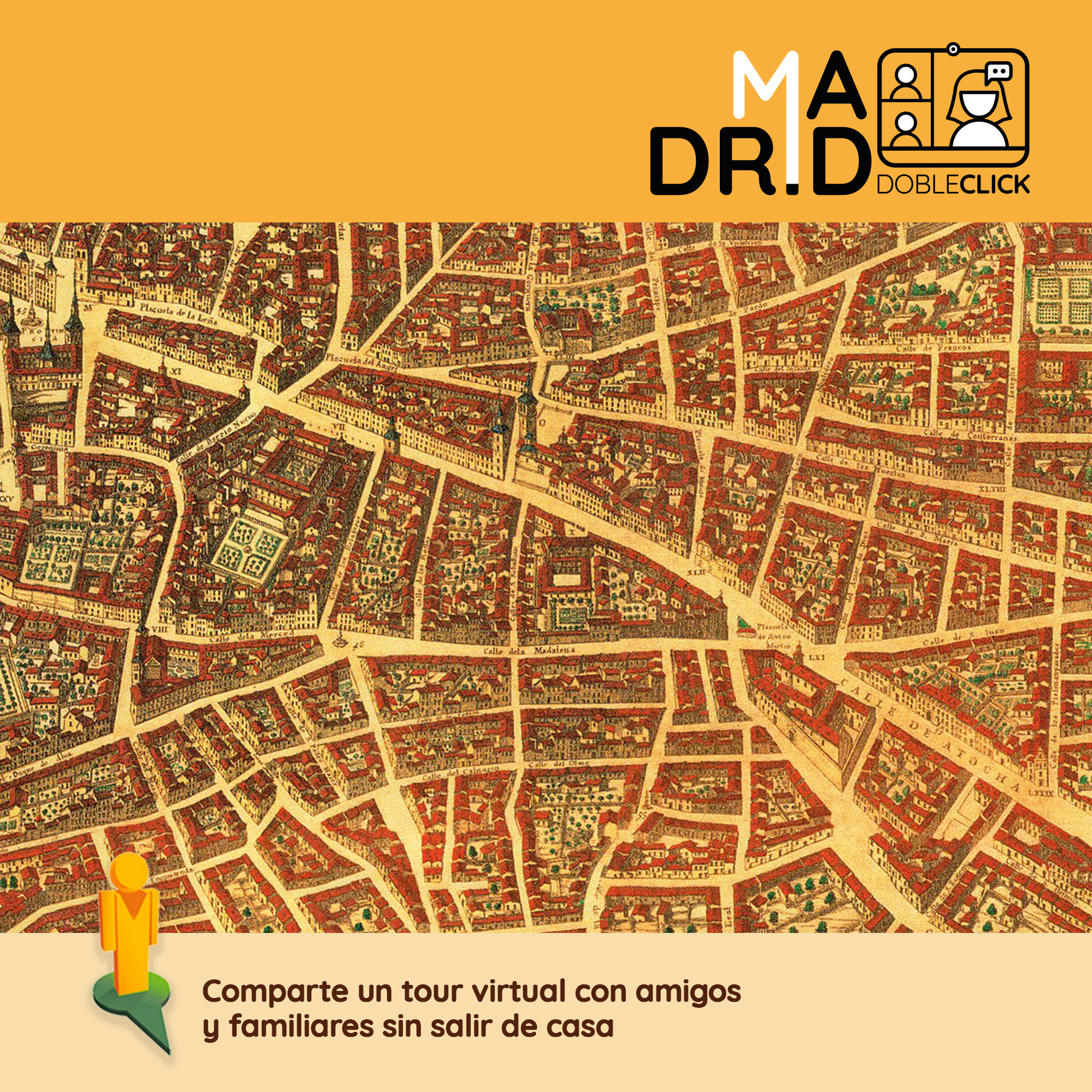 Tour virtual por el Madrid antiguo