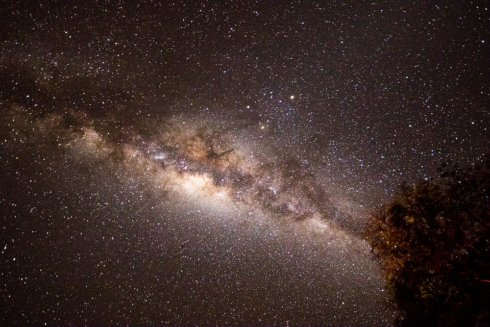 The Milky way Galaxy above Zimbabwe