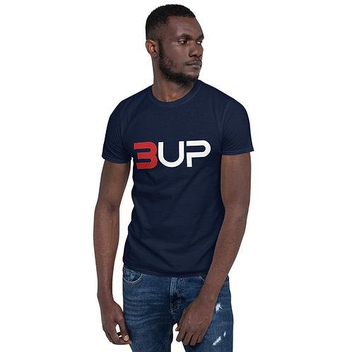 Unisex Basic Softstyle T-Shirt (Navy -Red)