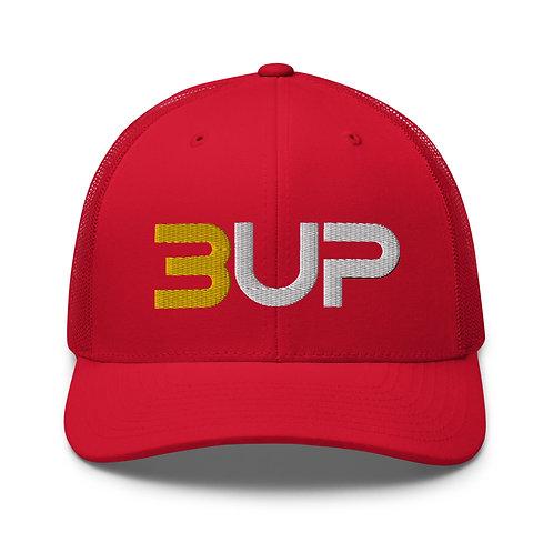Retro Trucker Hat (Red)
