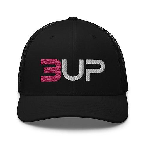 Retro Trucker Hat (Black)