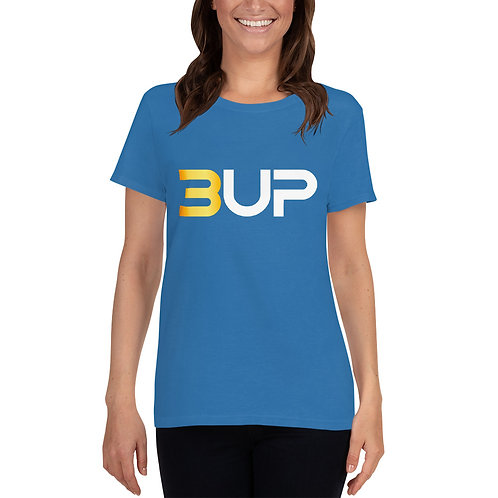 Women's Fashion Fit T-Shirt (Sapphire)
