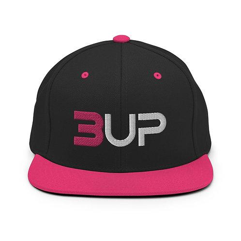 Classic SnapBack (Black-Neon Pink)