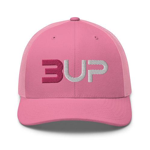 Retro Trucker Hat (Pink)