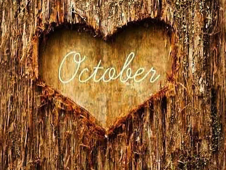 October Schedule! :)