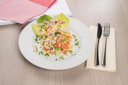 Rýžový sálát se zeleninou