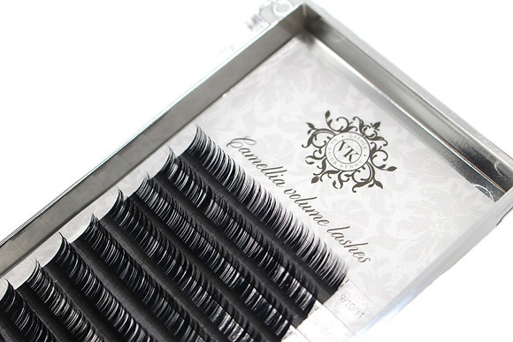 CAMELLIA VOLUME LASHES C CURL 0.07 - (Length by 2mm)