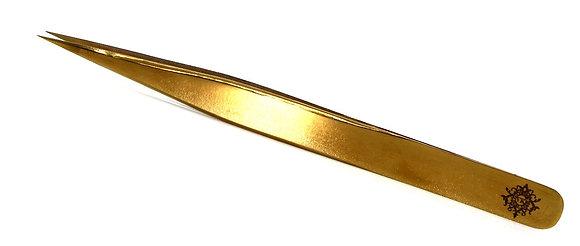 STRAIGHT GOLD TWEEZERS