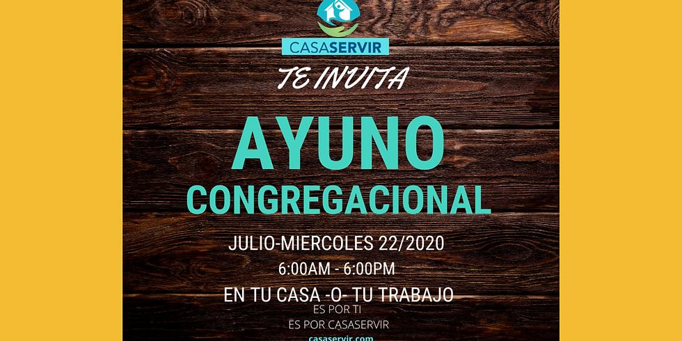 AYUNO CONGREGACIONAL