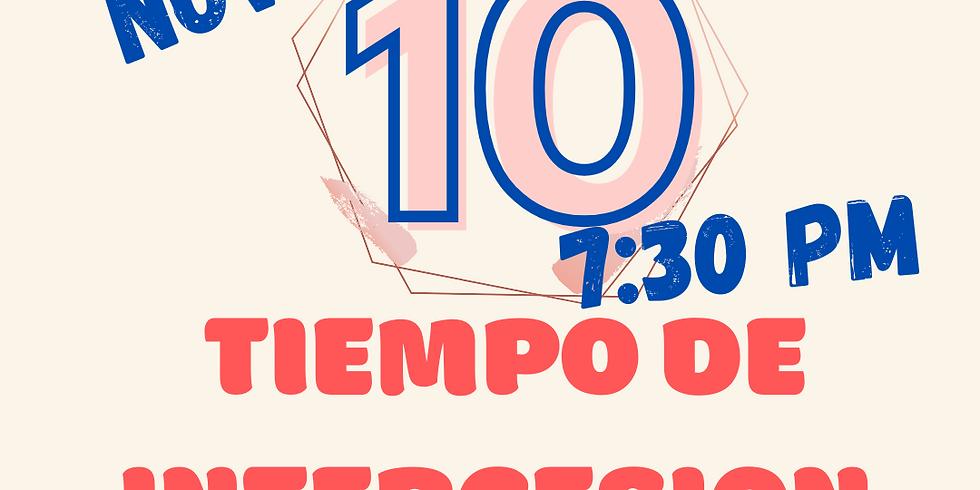 TIEMPO DE INTERCESION