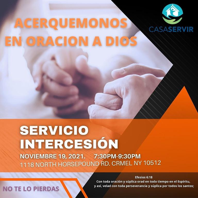 SERVICIO DE INTERCESION ORACION//PRAYER MEETING
