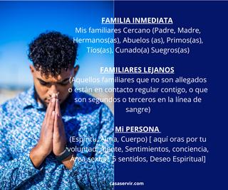 FAMILIA Peticiones personalesMis familia