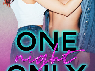 One Night Only Cover Reveal!
