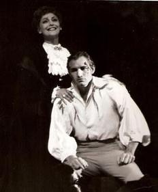 with Franca Duval - Tosca - Santa Fe Opera,