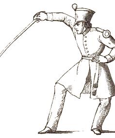 Infantry Sword Exercise Henry Angelo