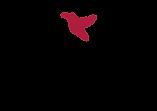 Mosqoy Peruvian Textiles logo with red hummingbird