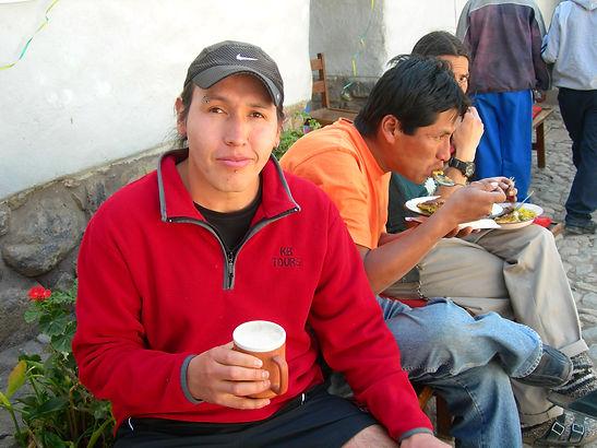 Mosqoy volunteer in Peru