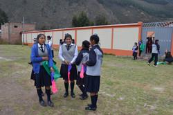Quechua girls at Do Day
