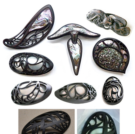 Decorative Objects  - Brooches