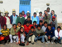 The first graduating class of the T'ikary Youth Program