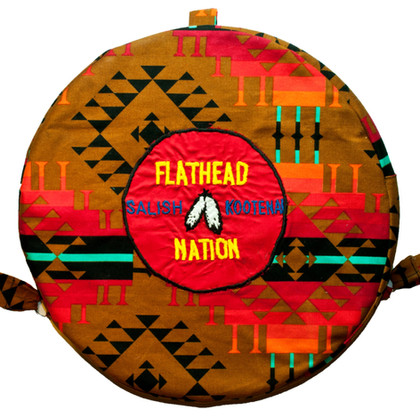 Flathead Nation Drum Bag