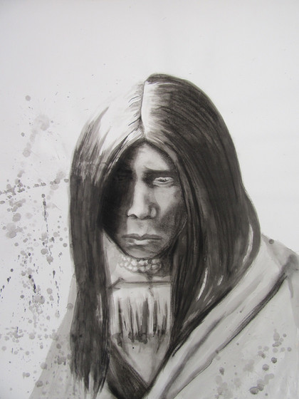 Portrait of Zosh Clishn, Apache