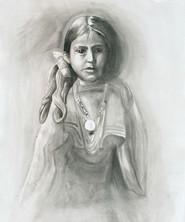 Portrait of Apache Girl