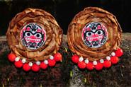 Cedar Earrings