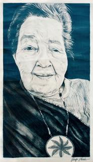 Portrait of Rhoda Hayward with Medallion