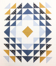Lovers Half Square Quilt