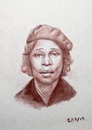 Potrait of Daisy May Hayward (Drawing)
