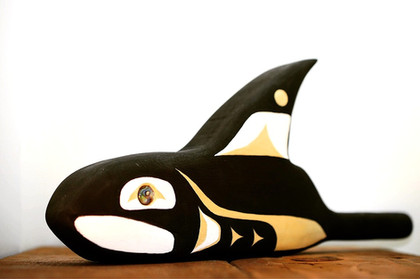 5 Years Sober Killer Whale Rattle