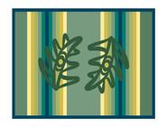 Cedar Bough Blanket Design