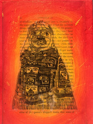 Chilkat blanket and mask