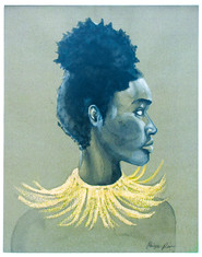 Woman with Gold Necklace