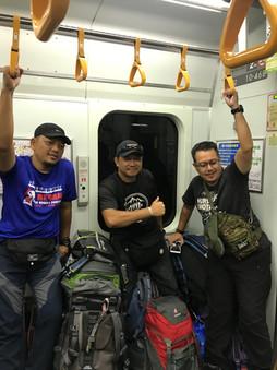 Train di Jepun sangat selsesa