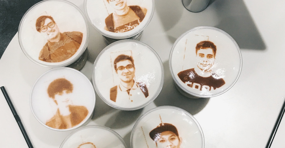 Nisssan Cafe Face Coffee