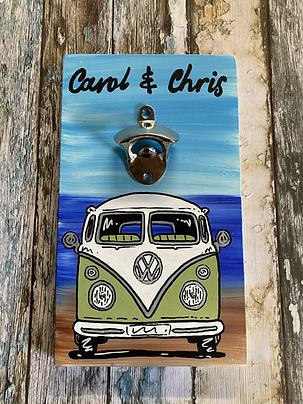 Custom handmade bottle openers