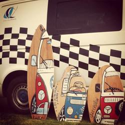 Trio of boards