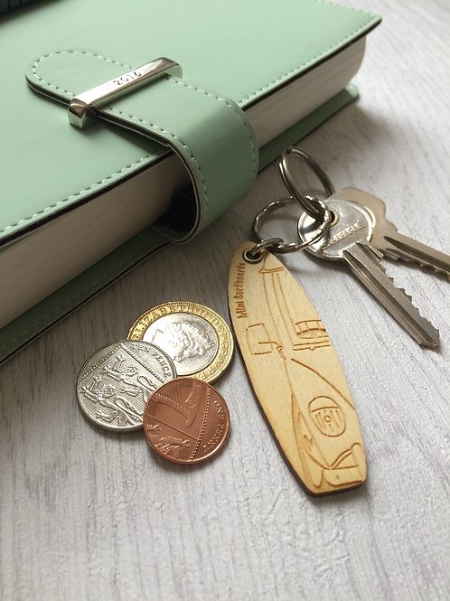 Split Screen Van Key Ring