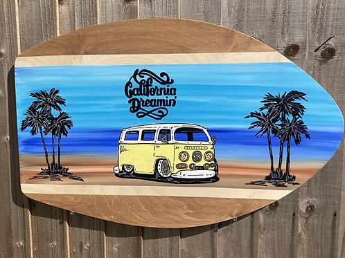 Silhouette Skim Board Table Top 15mm Birch Plywood - Custom Landscape Seen