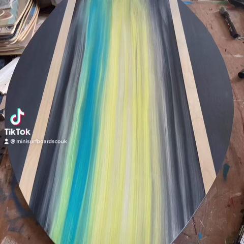Hi everyone Check out some of our recent work here at Mini surfboards HQ