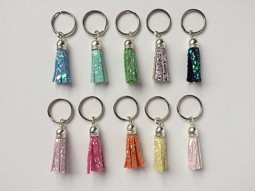 Mini Glitter Tassels