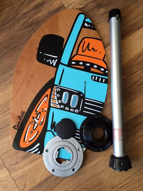 Skim Board Table Top 15mm Thick  with Sequoia leg set - Customised