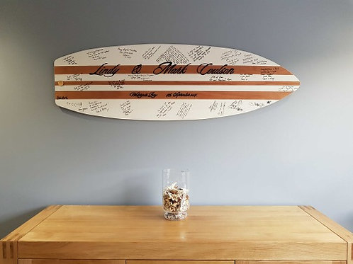 Mega Surfboard 15mm Birch Plywood  1.5 m -Wedding Guestbook