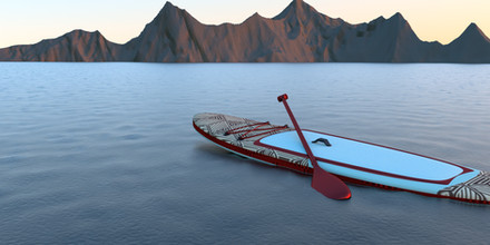 Standup Paddleboard 3D Design
