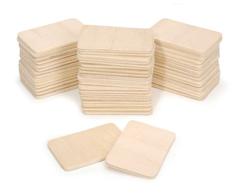 Thin Wooden Plaques
